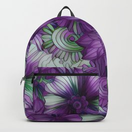 Violets and Greens Backpack
