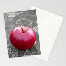 red apple VI Stationery Cards