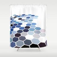 alaska Shower Curtains featuring Alaska by Bakmann Art