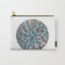 Circular Palm Trees - Geometric Photographic Carry-All Pouch