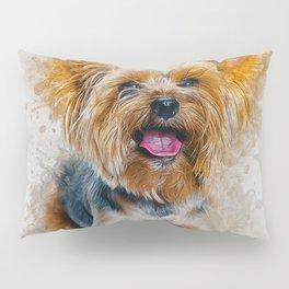 Yorkshire Terrier Pillow Sham