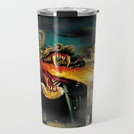 Barton The Mutant Salamander Travel Mug
