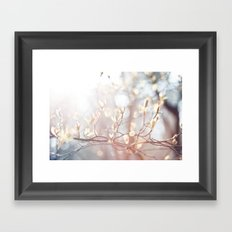 Lichtertanz Framed Art Print