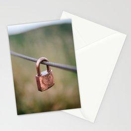 Love Lock // San Francisco, California Stationery Cards