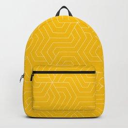 Golden poppy - yellow - Modern Vector Seamless Pattern Backpack