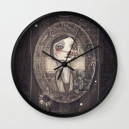 Lady Bear Wall Clock