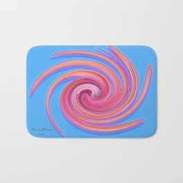 The whirl of life, W1.3C Bath Mat