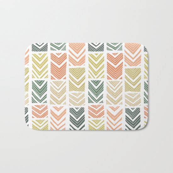Sugar Wave Bath Mat