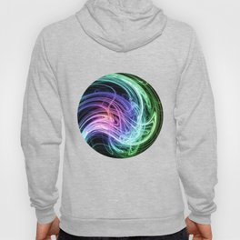 Rainbow fractal Hoody