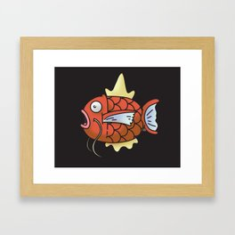 A magic Karp... Framed Art Print