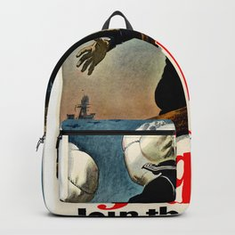 Fight let's go ! Join the Navy Backpack