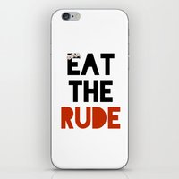 hannibal iPhone & iPod Skins featuring Hannibal by fyyff