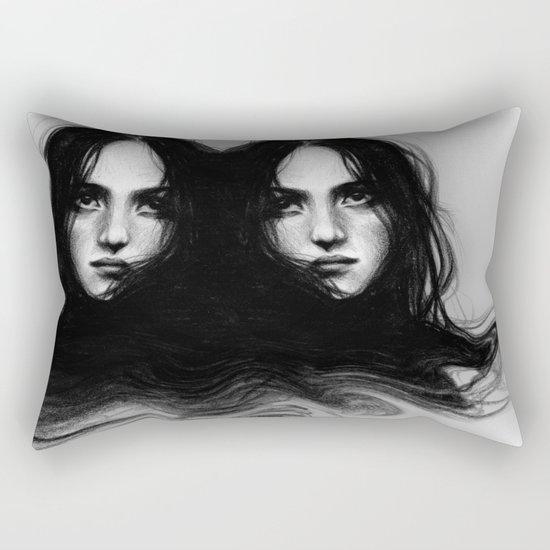 trouve-moi dans mes nœuds  Rectangular Pillow