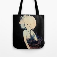 et Tote Bags featuring ET by  Maʁϟ
