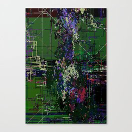 8bit fool Canvas Print