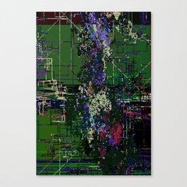 8bit fool Canvas Print