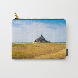 View of Mont Saint Michel against sky Carry-All Pouch