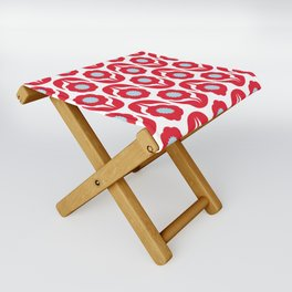 Joy collection - Red flowers Folding Stool