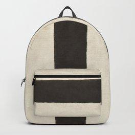 White Black Backpack