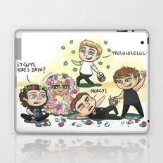 Flower Fight Laptop & iPad Skin