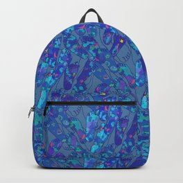 Foot Traffic [Foot Prints] Backpack