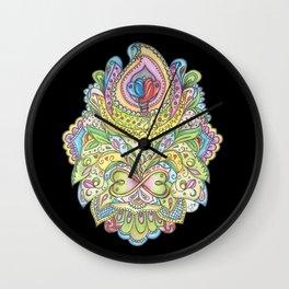 Merging II Wall Clock