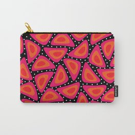 Shapes, Slices and Pips Carry-All Pouch