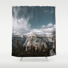 Glacier Point Wilderness Shower Curtain