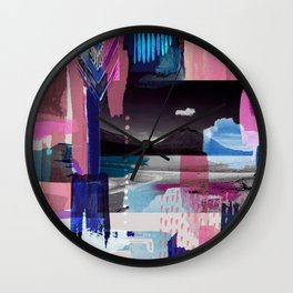 News from Uyuni_01 Wall Clock