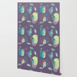 Intergalactic Cactus Wallpaper