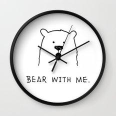 Bear with me. Wall Clock