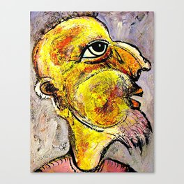 Portrait of a Wise Man Canvas Print