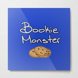 Bookie Monster Metal Print