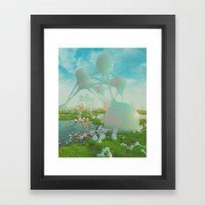MILKGOO (everyday 010.04.16) Framed Art Print