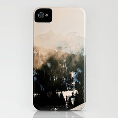 Winter Mountain Hike iPhone (4, 4s) Slim Case