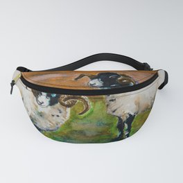 The Rams of Lastingham Fanny Pack