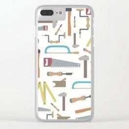 Carpenter world Clear iPhone Case