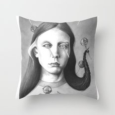 anthem for a seventeen year old series n4 Throw Pillow