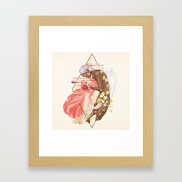 Cupid and Psyche Framed Art Print