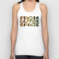 outer space Tank Tops featuring from outer space by sustici