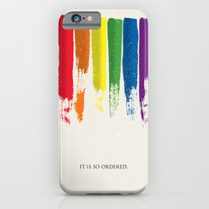 LGBT Pride - Gay Marriage iPhone 6 Slim Case