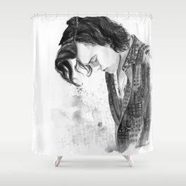 Black & White Harold Shower Curtain