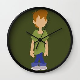 Kid Shaggy Rogers Wall Clock