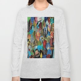 Collage - Feeling Fishy Long Sleeve T-shirt