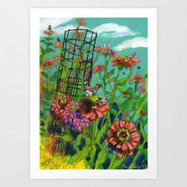 Monarch Migration Art Print