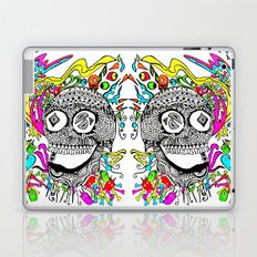 The Candy Skull Laptop & iPad Skin