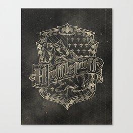 Hufflepuff House Canvas Print