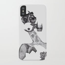 Anabelle (B&W) iPhone Case