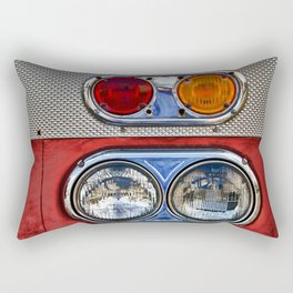Old Fire Lights Rectangular Pillow