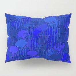 Jellyfish-BLUE Pillow Sham
